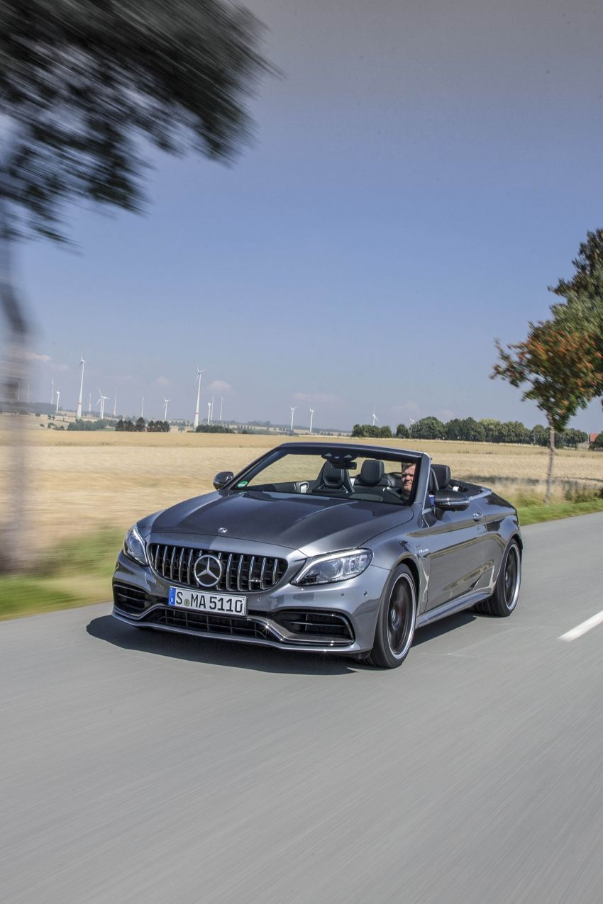Mercedes-AMG C63 facelift debuts with new 9G auto Image #955970