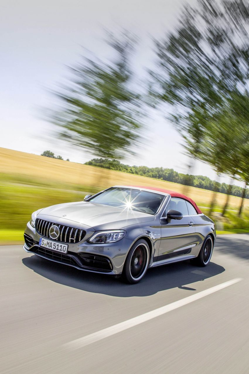 Mercedes-AMG C63 facelift debuts with new 9G auto Image #955971