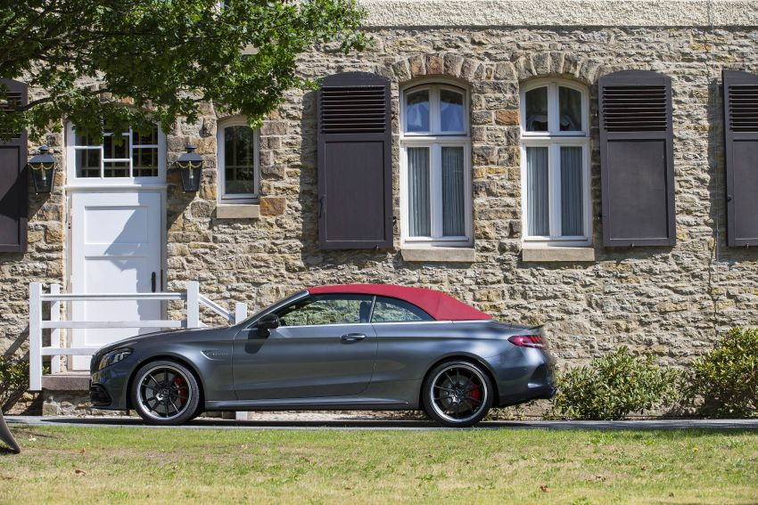 Mercedes-AMG C63 facelift debuts with new 9G auto Image #955952