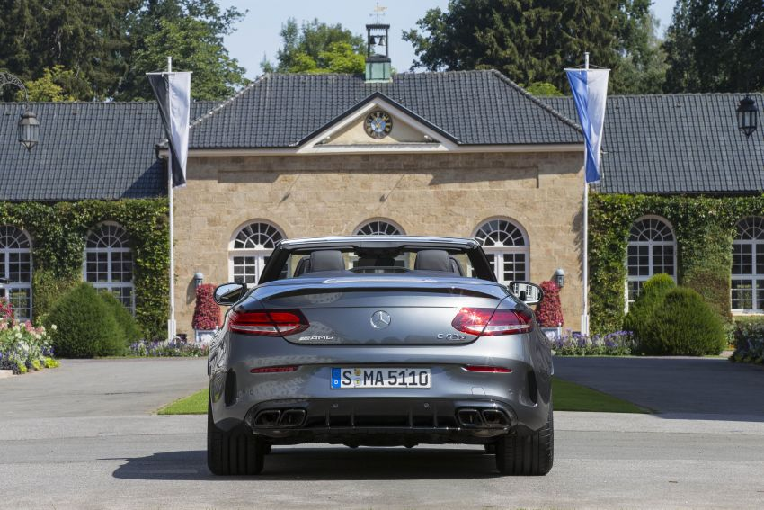 Mercedes-AMG C63 facelift debuts with new 9G auto Image #955953