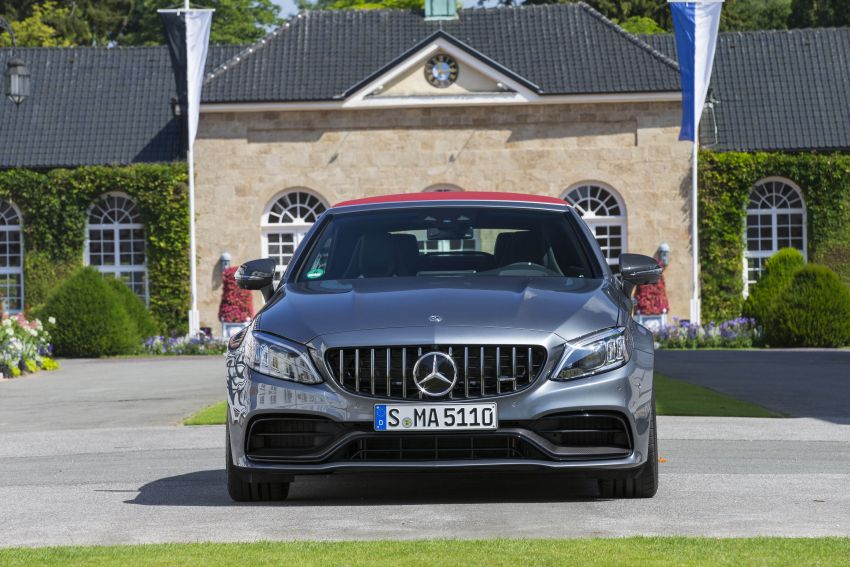 Mercedes-AMG C63 facelift debuts with new 9G auto Image #955955