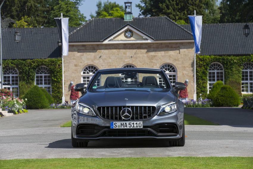 Mercedes-AMG C63 facelift debuts with new 9G auto Image #955956