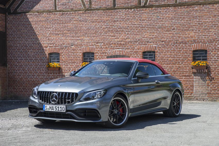 Mercedes-AMG C63 facelift debuts with new 9G auto Image #955957