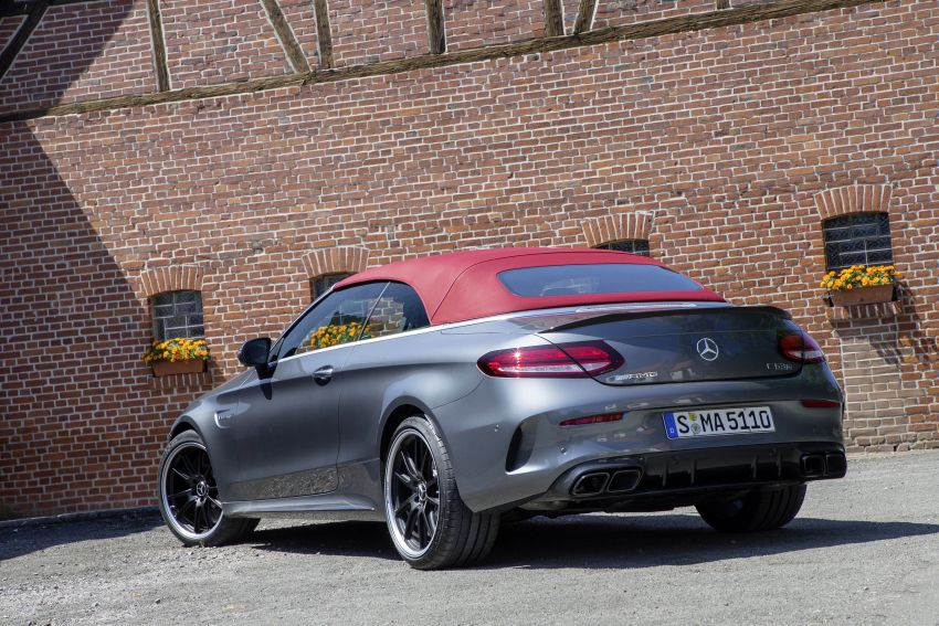 Mercedes-AMG C63 facelift debuts with new 9G auto Image #955958