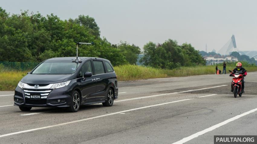 ASEAN NCAP organises first blind spot monitor test Image #788146