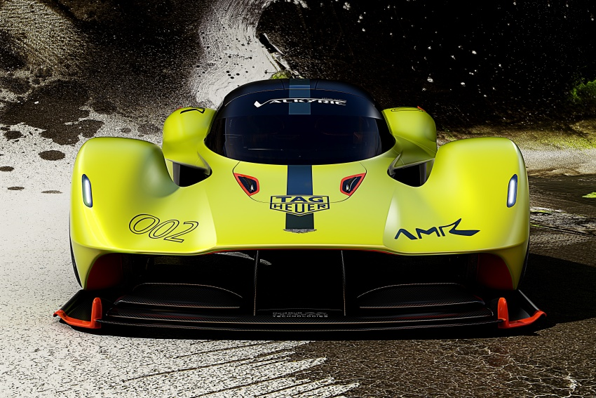 Aston Martin Valkyrie AMR Pro: 1,100 hp track monster Image #788713