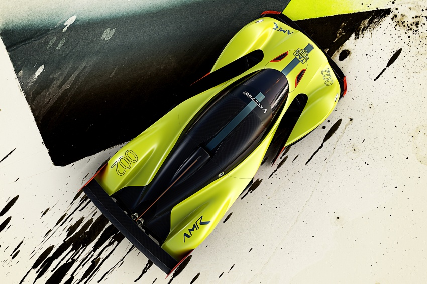 Aston Martin Valkyrie AMR Pro: 1,100 hp track monster Image #788715