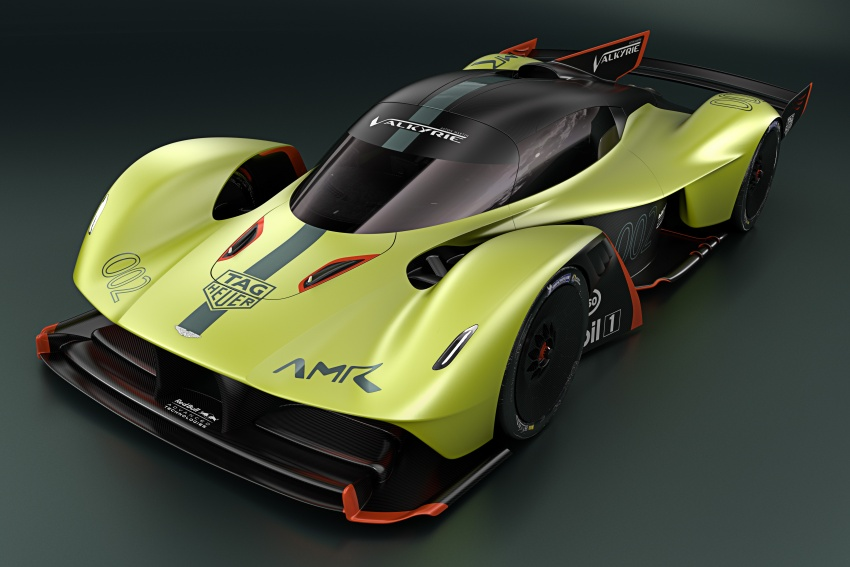 Aston Martin Valkyrie AMR Pro: 1,100 hp track monster Image #788717