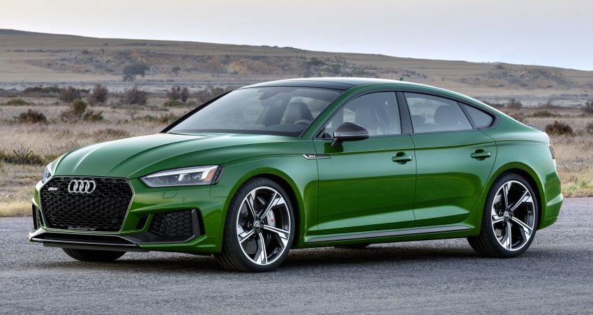 First-ever Audi RS5 Sportback debuts at NYIAS 2018 Image #797891