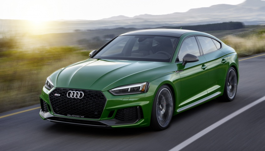 First-ever Audi RS5 Sportback debuts at NYIAS 2018 Image #797892