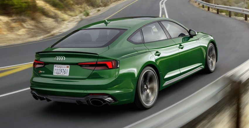 First-ever Audi RS5 Sportback debuts at NYIAS 2018 Image #797893