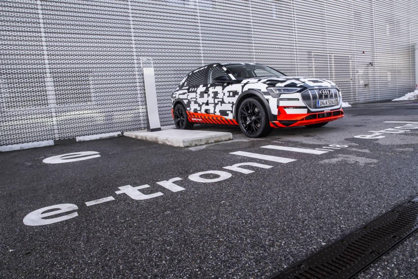 Audi e-tron prototypes revealed during Geneva Motor Show – upcoming all-electric SUV model previewed Image #788035