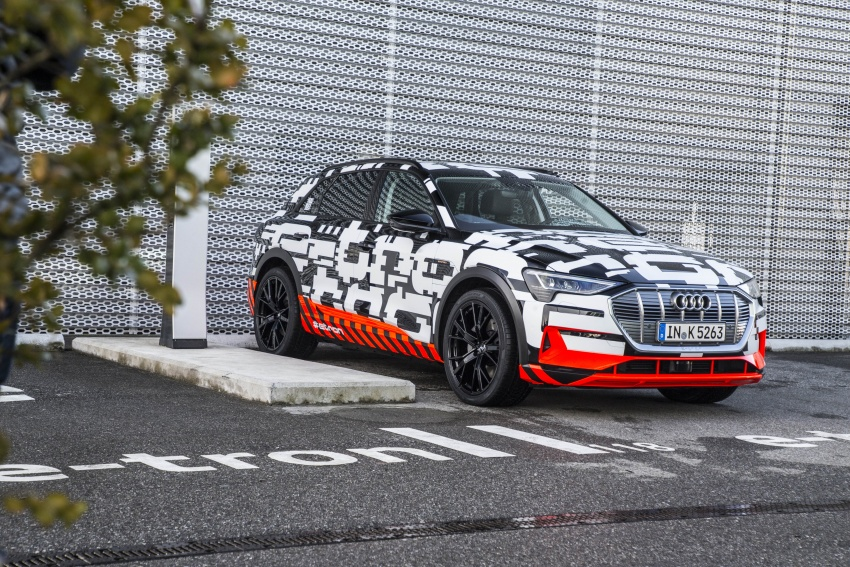 Audi e-tron prototypes revealed during Geneva Motor Show – upcoming all-electric SUV model previewed Image #788036