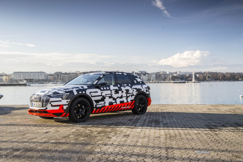 Audi e-tron prototypes revealed during Geneva Motor Show – upcoming all-electric SUV model previewed Image #788039