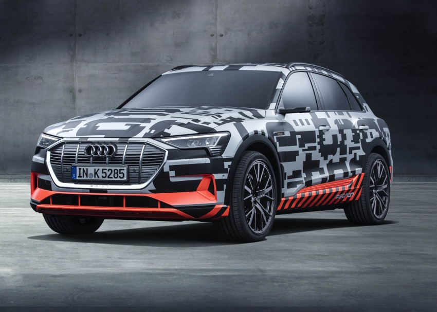 Audi e-tron prototypes revealed during Geneva Motor Show – upcoming all-electric SUV model previewed Image #788025