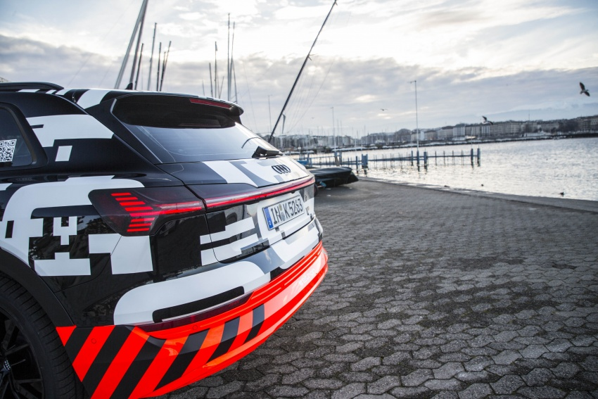 Audi e-tron prototypes revealed during Geneva Motor Show – upcoming all-electric SUV model previewed Image #788044