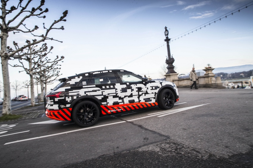 Audi e-tron prototypes revealed during Geneva Motor Show – upcoming all-electric SUV model previewed Image #788047