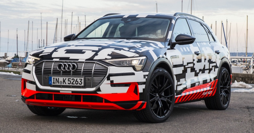 Audi e-tron prototypes revealed during Geneva Motor Show – upcoming all-electric SUV model previewed Image #788048