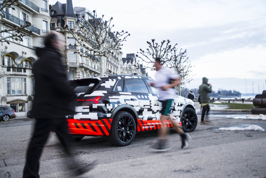 Audi e-tron prototypes revealed during Geneva Motor Show – upcoming all-electric SUV model previewed Image #788050