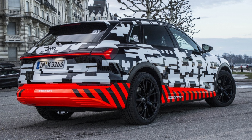 Audi e-tron prototypes revealed during Geneva Motor Show – upcoming all-electric SUV model previewed Image #788051