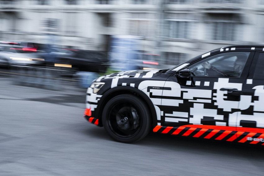 Audi e-tron prototypes revealed during Geneva Motor Show – upcoming all-electric SUV model previewed Image #788054