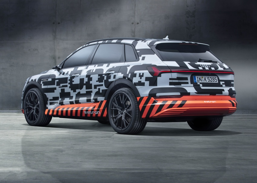 Audi e-tron prototypes revealed during Geneva Motor Show – upcoming all-electric SUV model previewed Image #788027