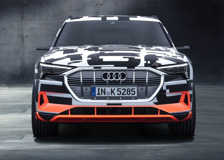 Audi e-tron prototypes revealed during Geneva Motor Show – upcoming all-electric SUV model previewed Image #788031