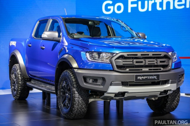 Ford Raptor For Sale >> Ford Ranger Raptor launched in Thailand - RM210k