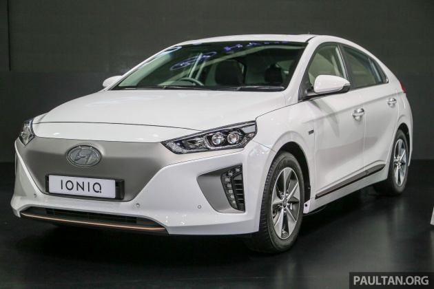 Bangkok 2018 Hyundai Ioniq Electric Full Ev Launched In Thailand 28 Kwh Battery 280 Km Range Rm216k