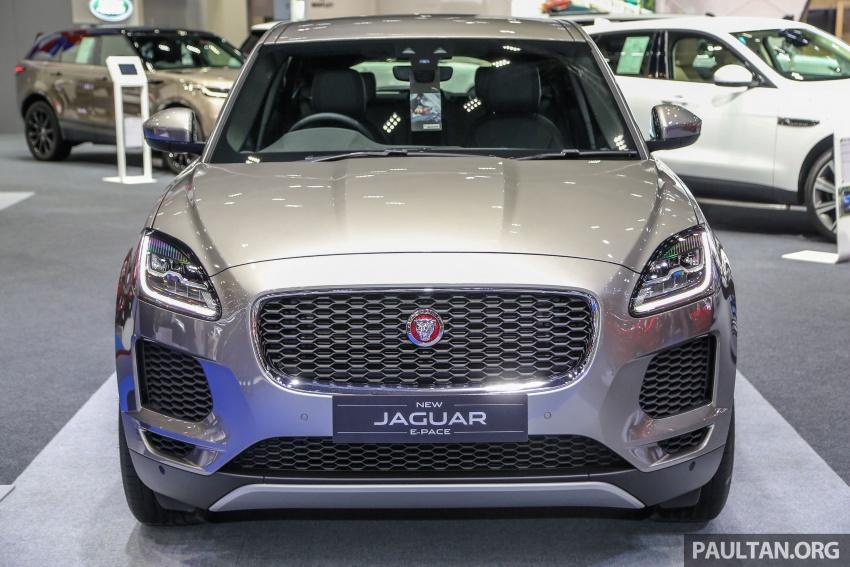 Bangkok 2018: Jaguar E-Pace launched, 2.0D, RM445k Image #799918