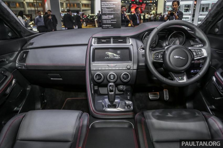 Bangkok 2018: Jaguar E-Pace launched, 2.0D, RM445k Image #799921