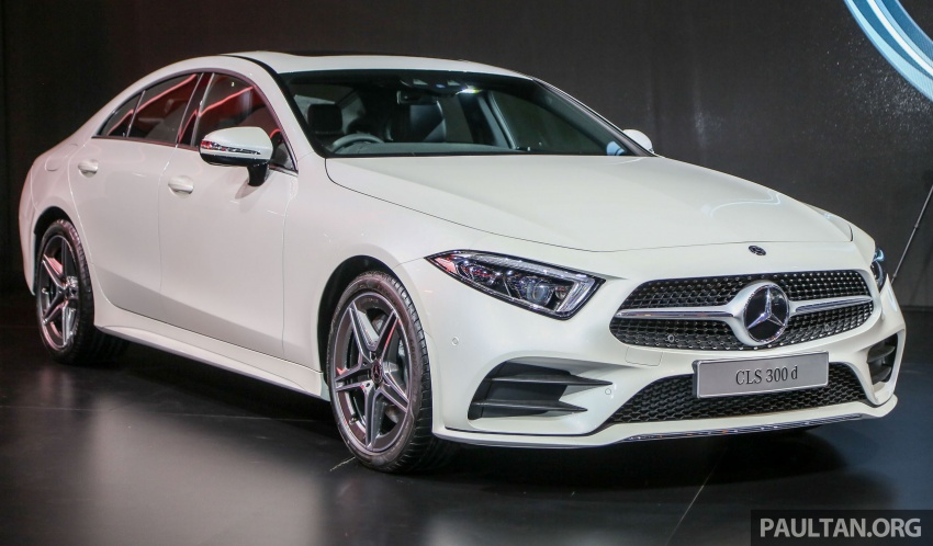 Bangkok 2018: Mercedes-Benz CLS launched, RM615k Image #797524