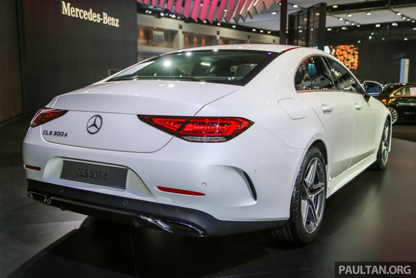 Bangkok 2018: Mercedes-Benz CLS launched, RM615k Image #797525