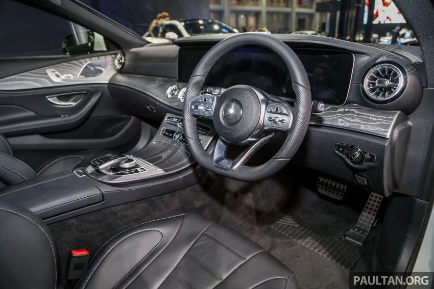 Bangkok 2018: Mercedes-Benz CLS launched, RM615k Image #797545