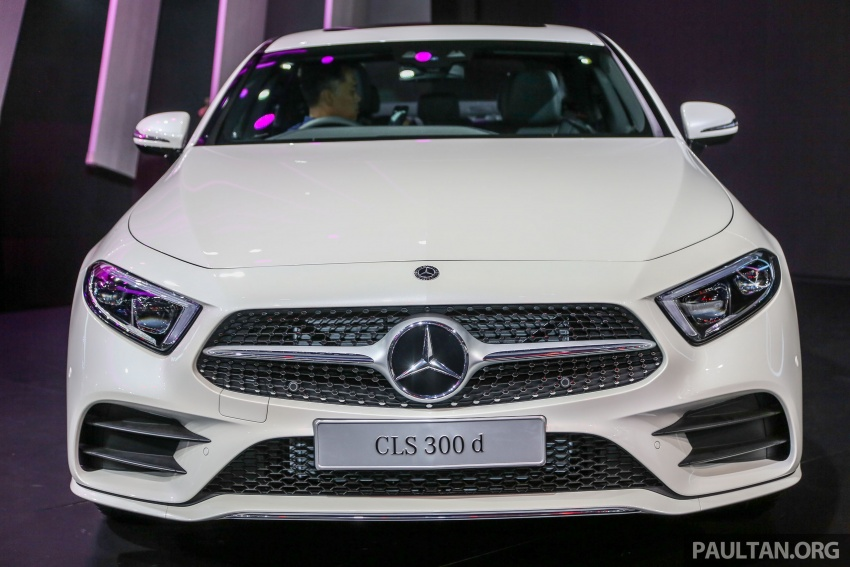 Bangkok 2018: Mercedes-Benz CLS launched, RM615k Image #797526