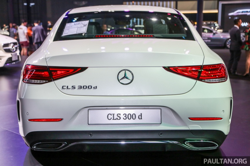 Bangkok 2018: Mercedes-Benz CLS launched, RM615k Image #797527