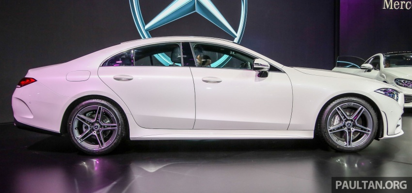 Bangkok 2018: Mercedes-Benz CLS launched, RM615k Image #797528