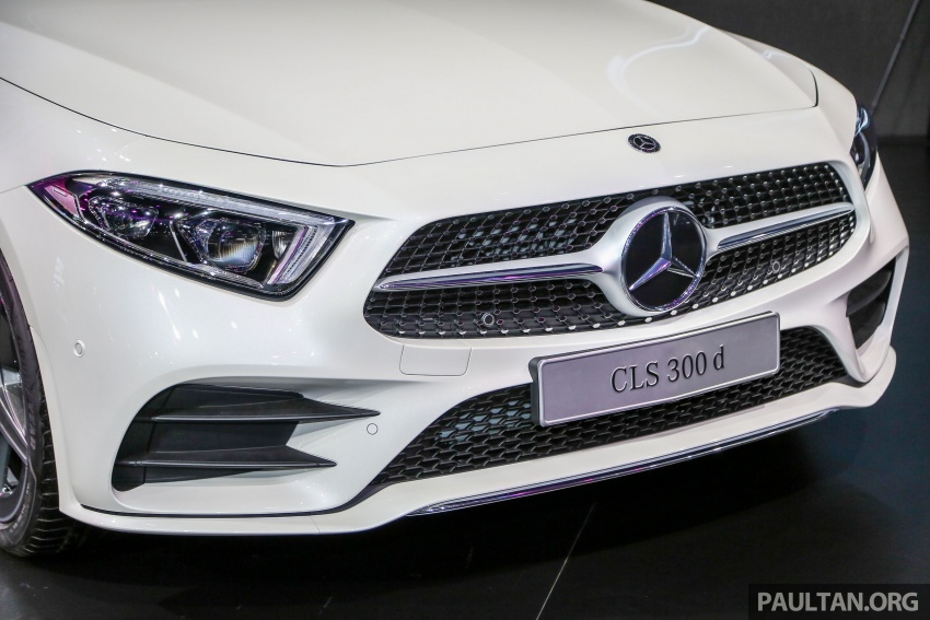 Bangkok 2018: Mercedes-Benz CLS launched, RM615k Image #797529