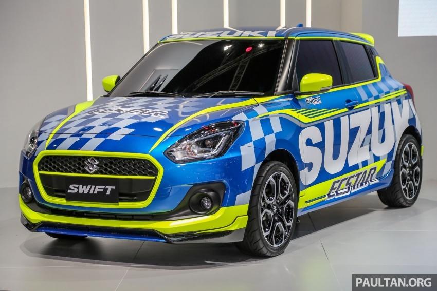 Bangkok 2018: Suzuki Swift 1.2L baharu – kuasa 83 PS Image #799886