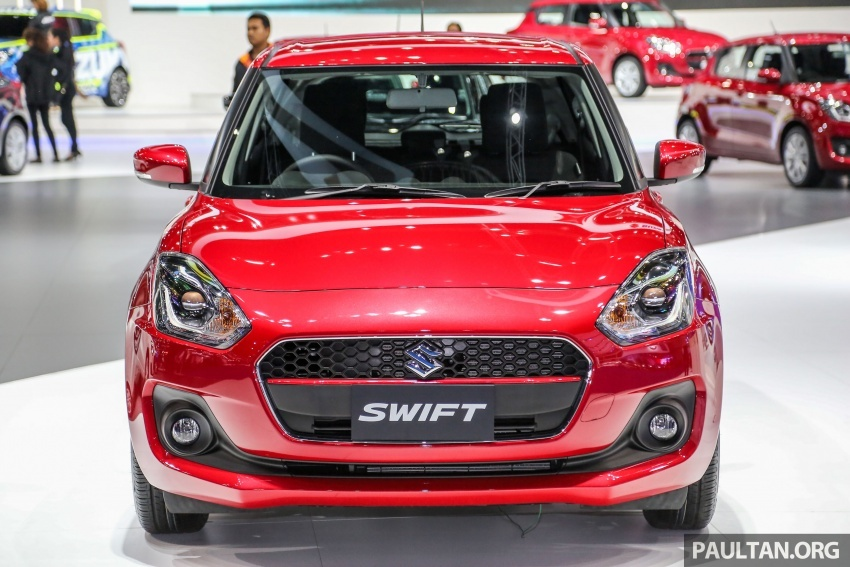 Bangkok 2018: Suzuki Swift 1.2L baharu – kuasa 83 PS Image #799859