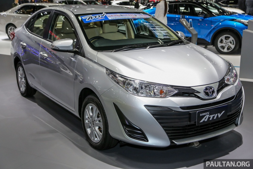 Bangkok 2018: Toyota Yaris Ativ, the next-gen Vios Image #796655