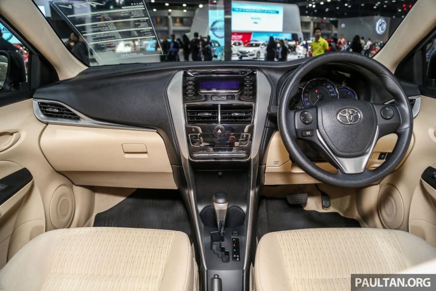 Bangkok 2018: Toyota Yaris Ativ, the next-gen Vios Image #796657