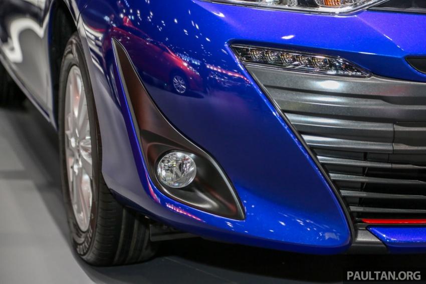 Bangkok 2018: Toyota Yaris Ativ – Vios generasi baharu dengan enjin 1.2L, hanya untuk pasaran Thai Image #796825