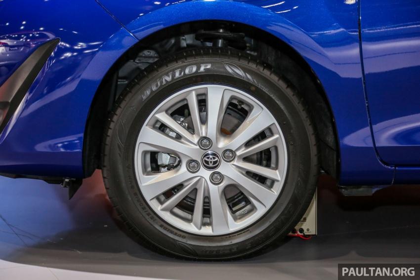 Bangkok 2018: Toyota Yaris Ativ – Vios generasi baharu dengan enjin 1.2L, hanya untuk pasaran Thai Image #796824