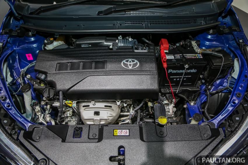 Bangkok 2018: Toyota Yaris Ativ – Vios generasi baharu dengan enjin 1.2L, hanya untuk pasaran Thai Image #796817