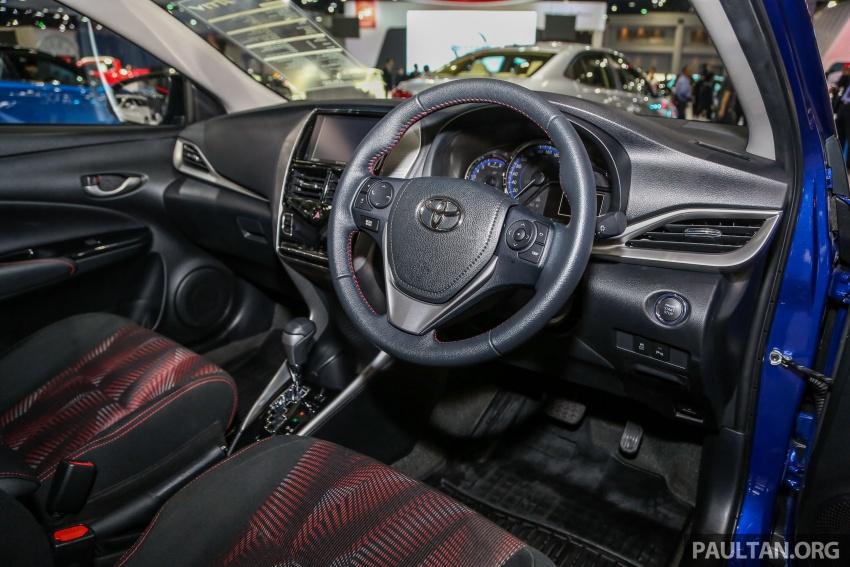 Bangkok 2018: Toyota Yaris Ativ – Vios generasi baharu dengan enjin 1.2L, hanya untuk pasaran Thai Image #796816