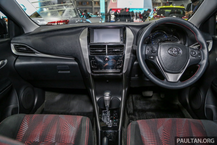 Bangkok 2018: Toyota Yaris Ativ – Vios generasi baharu dengan enjin 1.2L, hanya untuk pasaran Thai Image #796815