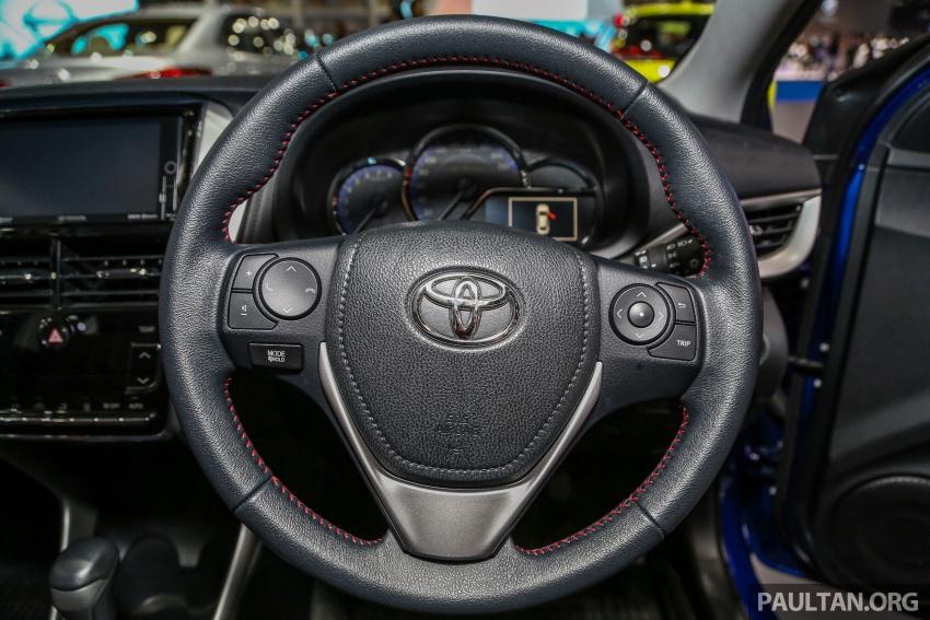 Bangkok 2018: Toyota Yaris Ativ – Vios generasi baharu dengan enjin 1.2L, hanya untuk pasaran Thai Image #796814