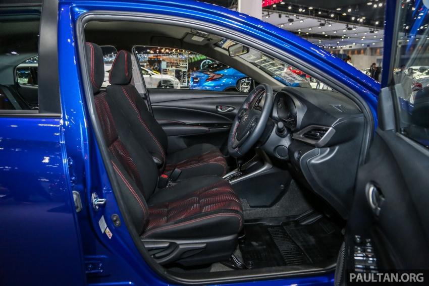 Bangkok 2018: Toyota Yaris Ativ – Vios generasi baharu dengan enjin 1.2L, hanya untuk pasaran Thai Image #796806