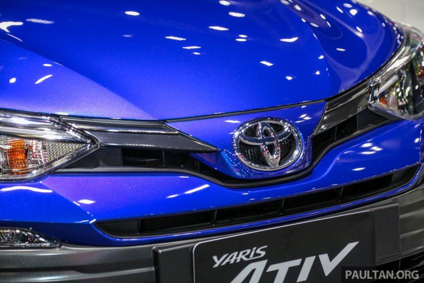 Bangkok 2018: Toyota Yaris Ativ, the next-gen Vios Image #796671